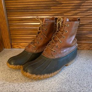 LL Bean Vintage Duck Boots Maine Hunting Shoe 8